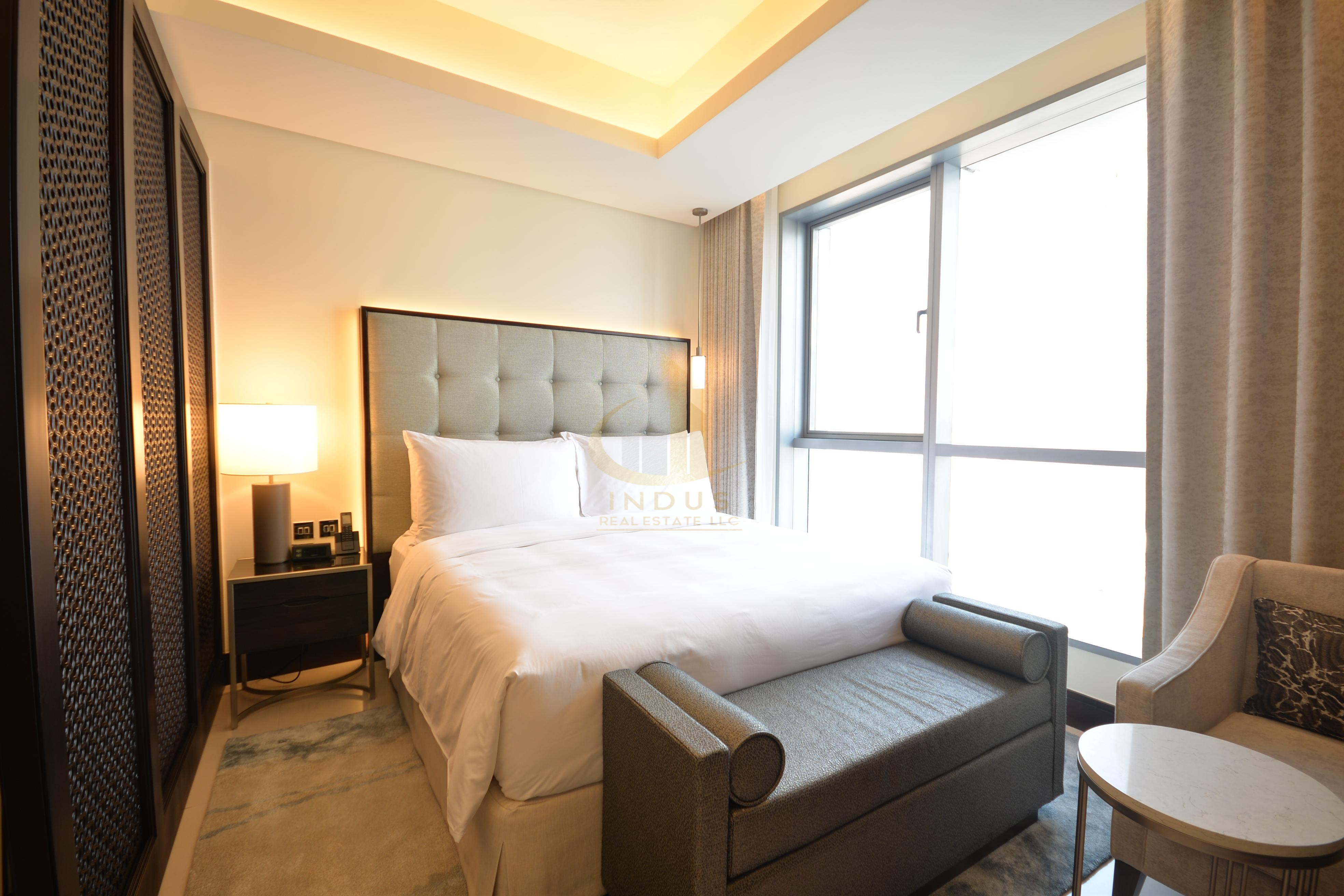 Available in 12 Chqs  Serviced Apt Fully Furnished Main image