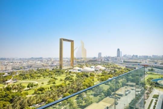 Pay 20% Move in! Zabeel Park and Dubai Frame Views Main image