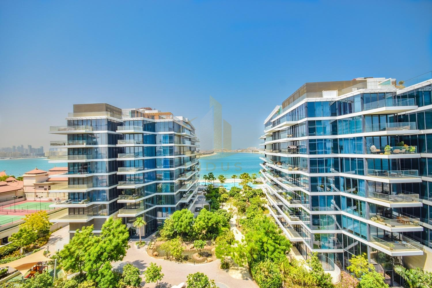 Ready To Move-in! Fully Furnished | Beach and Sea Views Main image