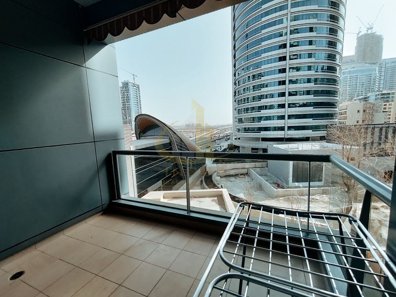 Next to Metro  Station   1 Bedroom   Chiller Free   Unfurnished Main image