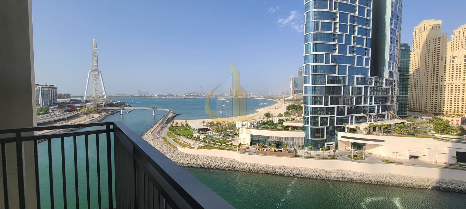 1BR Marina and Bluewaters View | Brand New | Spacious Main image