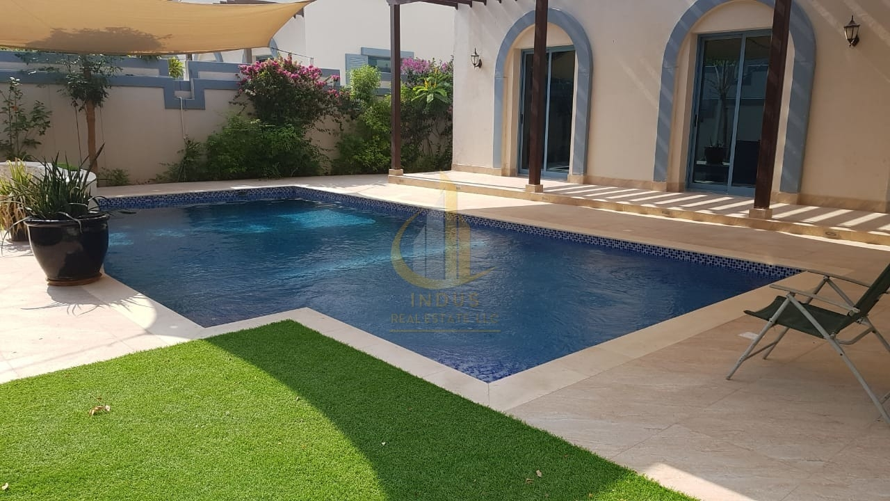 Private Pool | Semi Detached 4 BR+Maid+Driver Pvt Main image