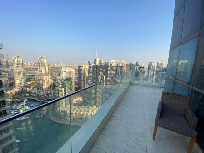 Luxury Penthouse with Iconic Marina Views! 3 Bedroom in Dusit Princess Residences