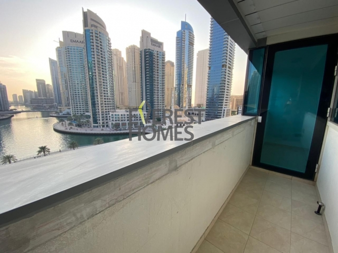 1 Month free! Panoramic Marina Views ! Big Balcony! 1 Bed in Dusit Princess! Limited Promotional Offer