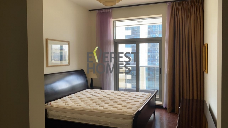 fully furnished 2bhk +maid room chiller free fornt to metro