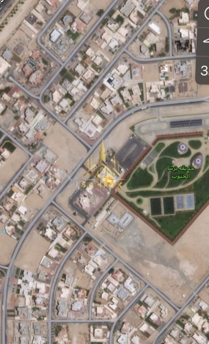 Residential plot for GCC I with a villa G+1 permission
