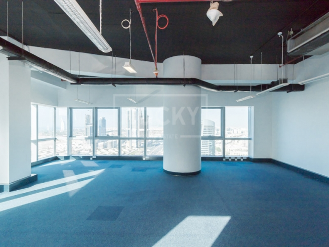 Higher Floor | Fitted Office | The One Tower