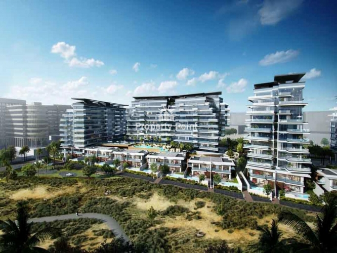 Off Plan. AED*1,343,120. 5% Down Payment. Luxurious 1 BR Apartment w/ Balcony, Parking & Facilities in Mayan, Yas Island