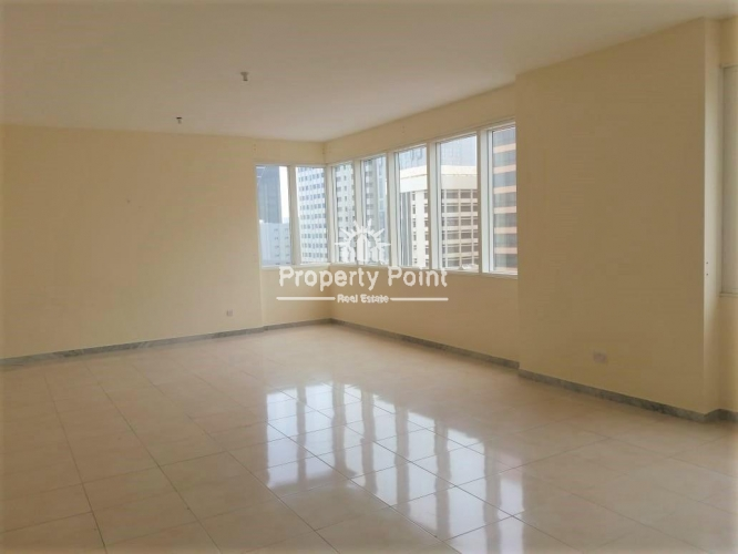 Move In Now. Best Price For Spacious and Very Nice 3 Bedroom w/ Maids Room Apartment along Airport Road