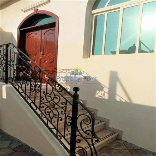 Move In Now. Great Location for Affordable 4 BR(Master) Villa w/ Maids Room and Covered Parking in Khalifa City A