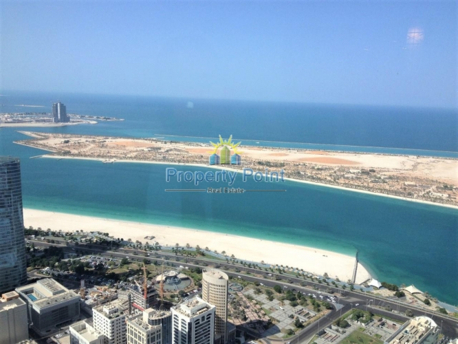 1-4 Payments. Amazing Sea/Corniche View. Very Nice 1 Bedroom Apartment w/ Parking and Facilities in WTC Tower