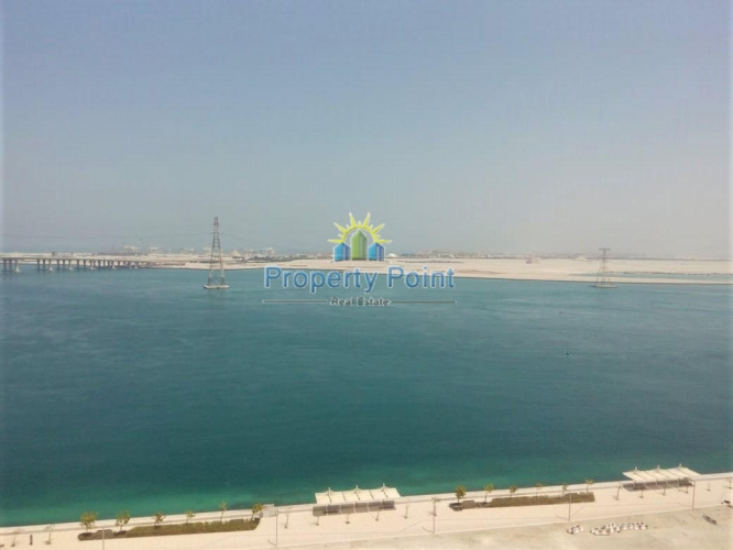 Move In Now. Amazing Sea View. Best Deal for Fantastic 2 Bedroom Apartment w/ Parking and Facilities in Al Reem Island