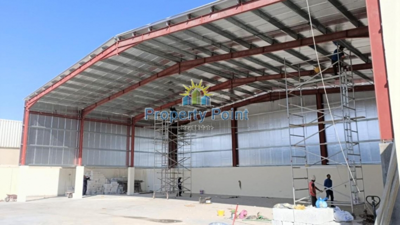 750 SQM Workshop Available for RENT in Mussafah Industrial Area