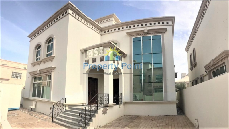 Available Now. Private Entrance. Amazing 5-bedroom Villa w/ Maids Room and Covered Parking in Mohammed Bin Zayed City